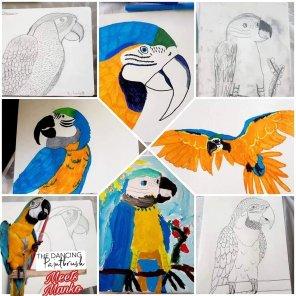 Brisbane Kids Art Class, July