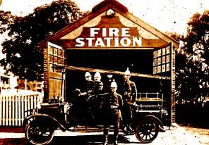 The original firehouse, dating back to 1845 (burrasa.info)