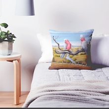 Owen Pointon River View Pillows at ww.redbubble.com/people/oppointonartist