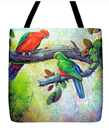 Owen Pointon King of the Mountains Totebag (at www.fineartamerica.com)
